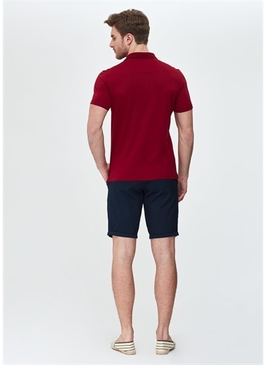 Dagi Bordo Polo Yaka T-Shirt Bordo